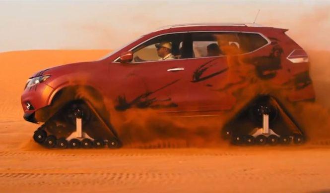 Vídeo: el Nissan X-Trail Desert Warrior en su territorio