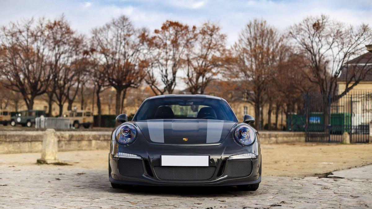 Porsche 911 R frontal