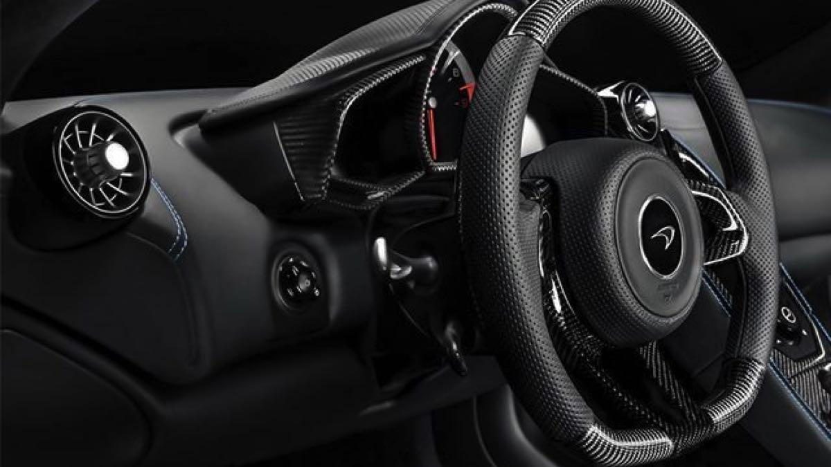McLaren Super Series MSO  interior