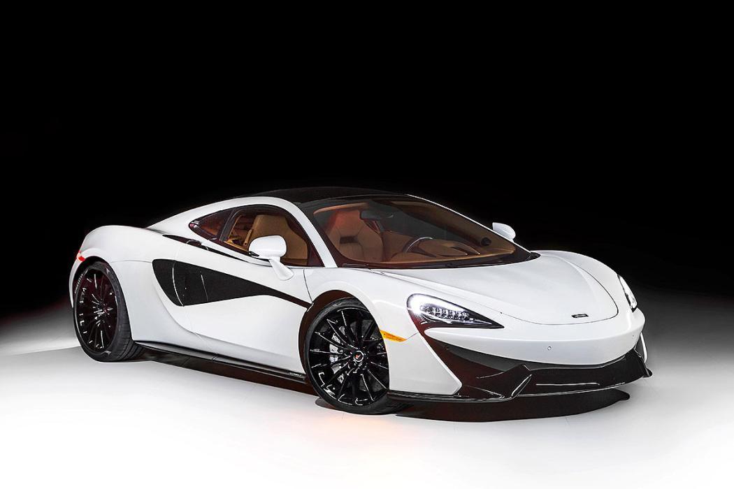 McLaren 570GT MSO. Finales de 2016. Con un techo acristalado que se oscurece has
