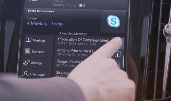 Los Volvo XC90 de la gama 2017 llevarán Skype