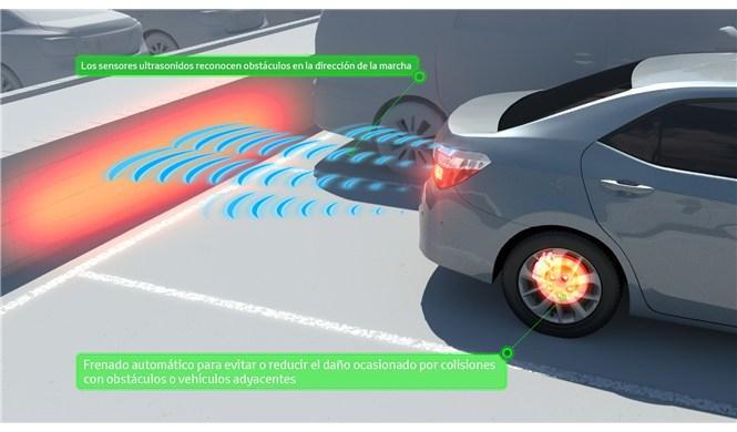 Los accidentes se reducen un 70% con el sistema Toyota ICS