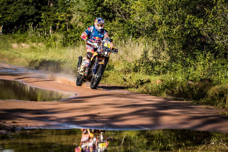 Dakar 2017, Motos. Etapa 2: Toby Price reclama su orgullo