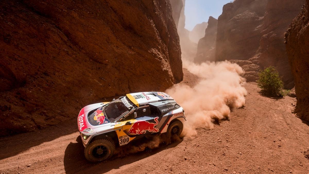 Dakar 2017. Coches, Etapa 3: triplete de Peugeot