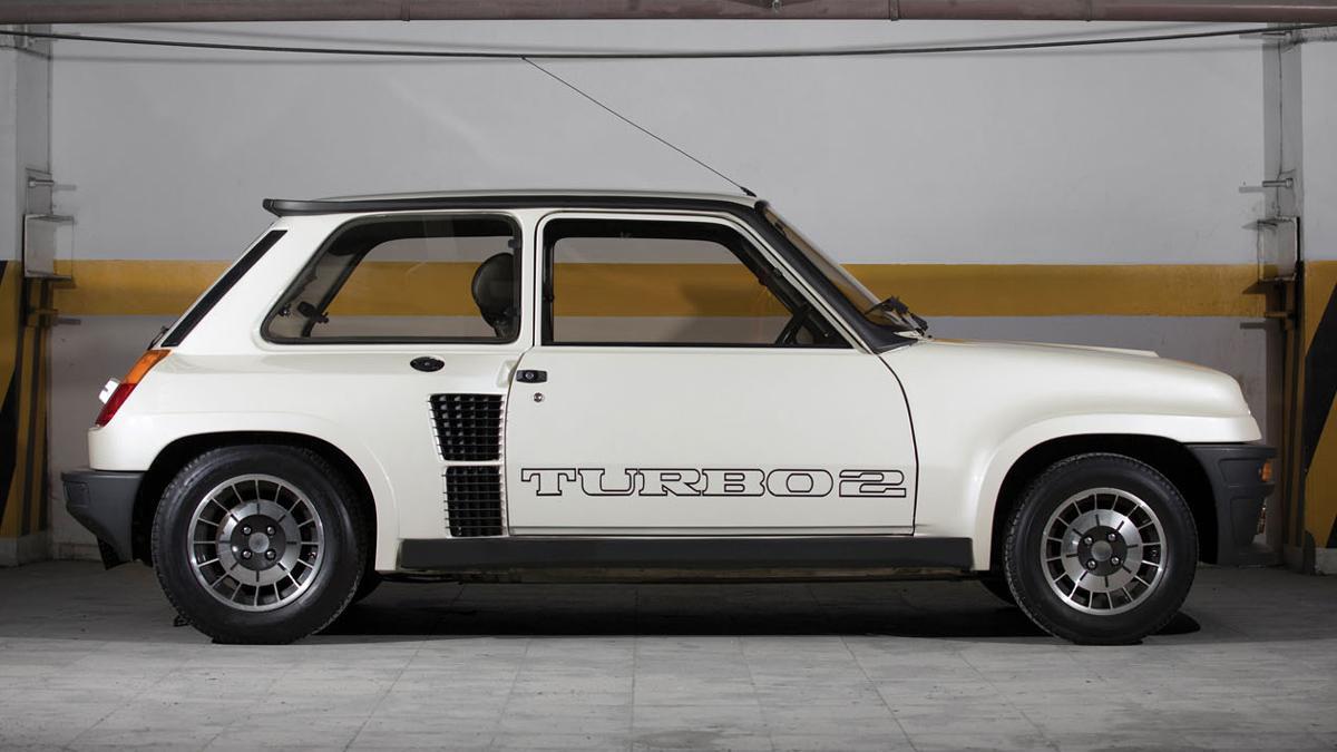 Renault 5 Turbo II perfil