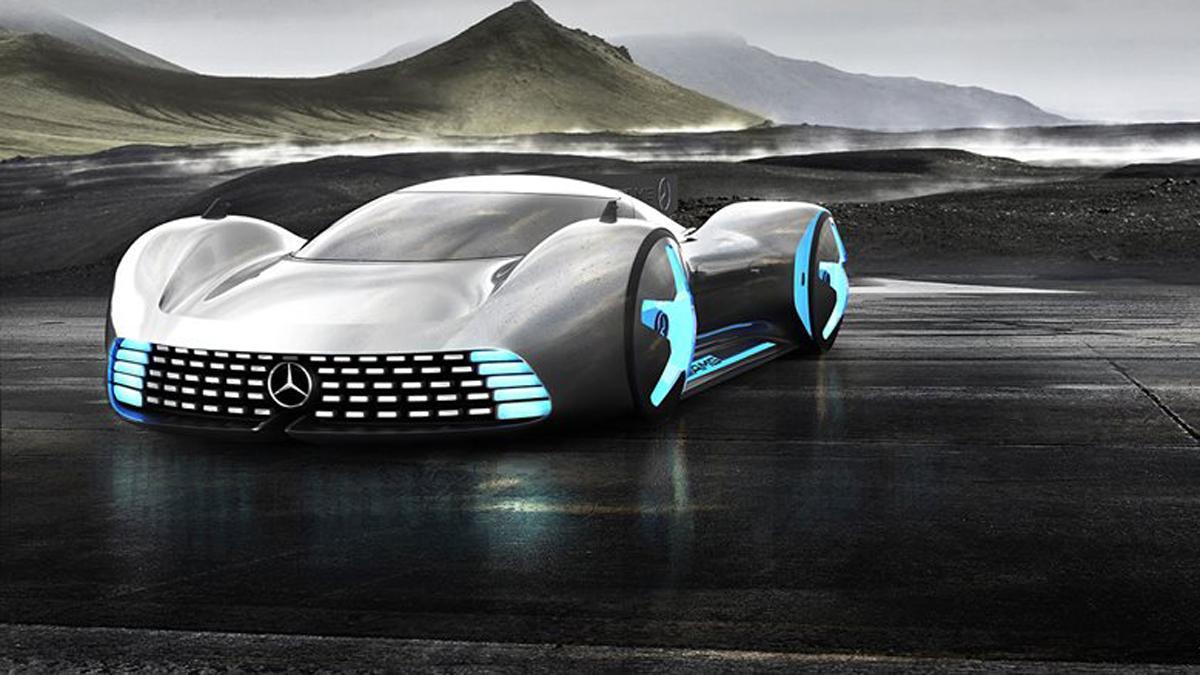 nuevo superdeportivo de Mercedes delantera