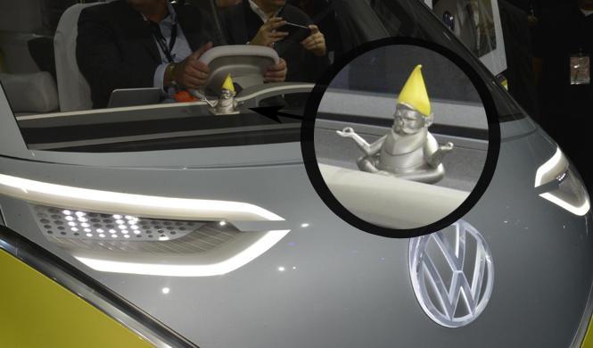 El VW I.D. BUZZ esconde… ¡un gnomo!