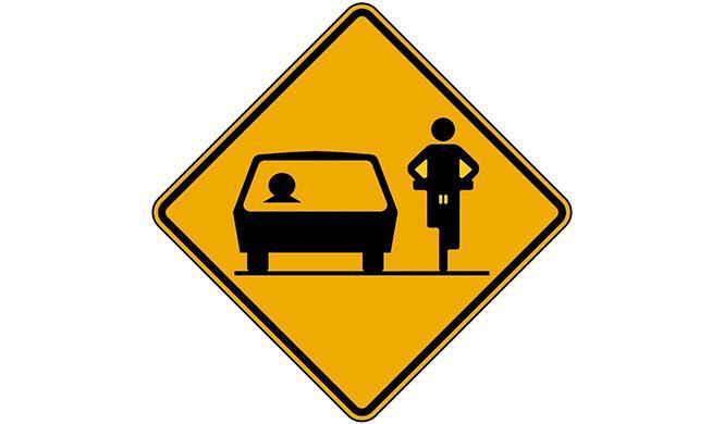 La norma del metro y medio: cómo adelantar a un ciclista