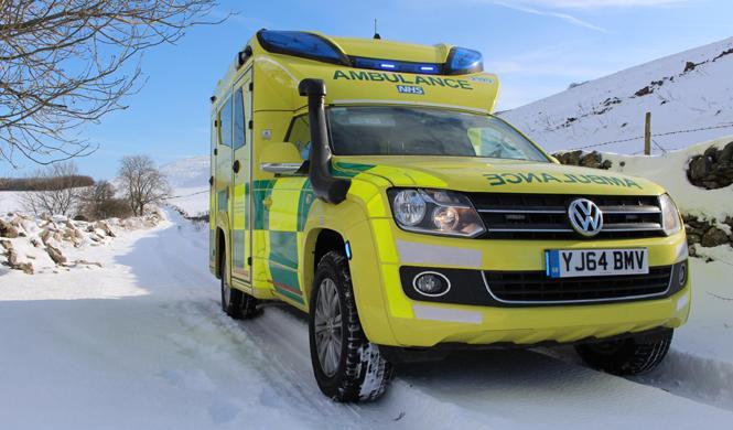 Las ambulancias suecas se 'cuelan' en la radio de tu coche