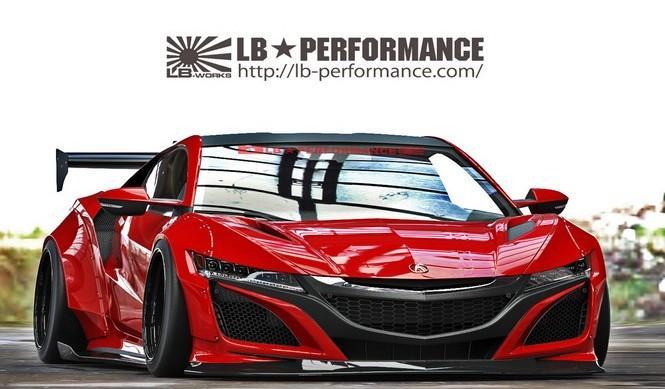 Honda NSX LB Performance