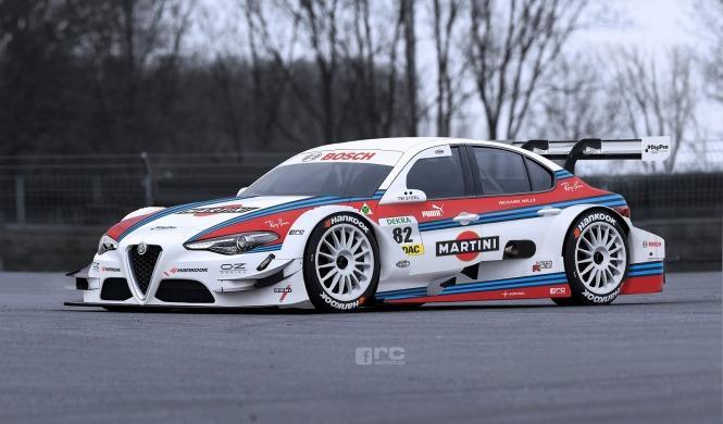 Así sería el Alfa Romeo Giulia del DTM