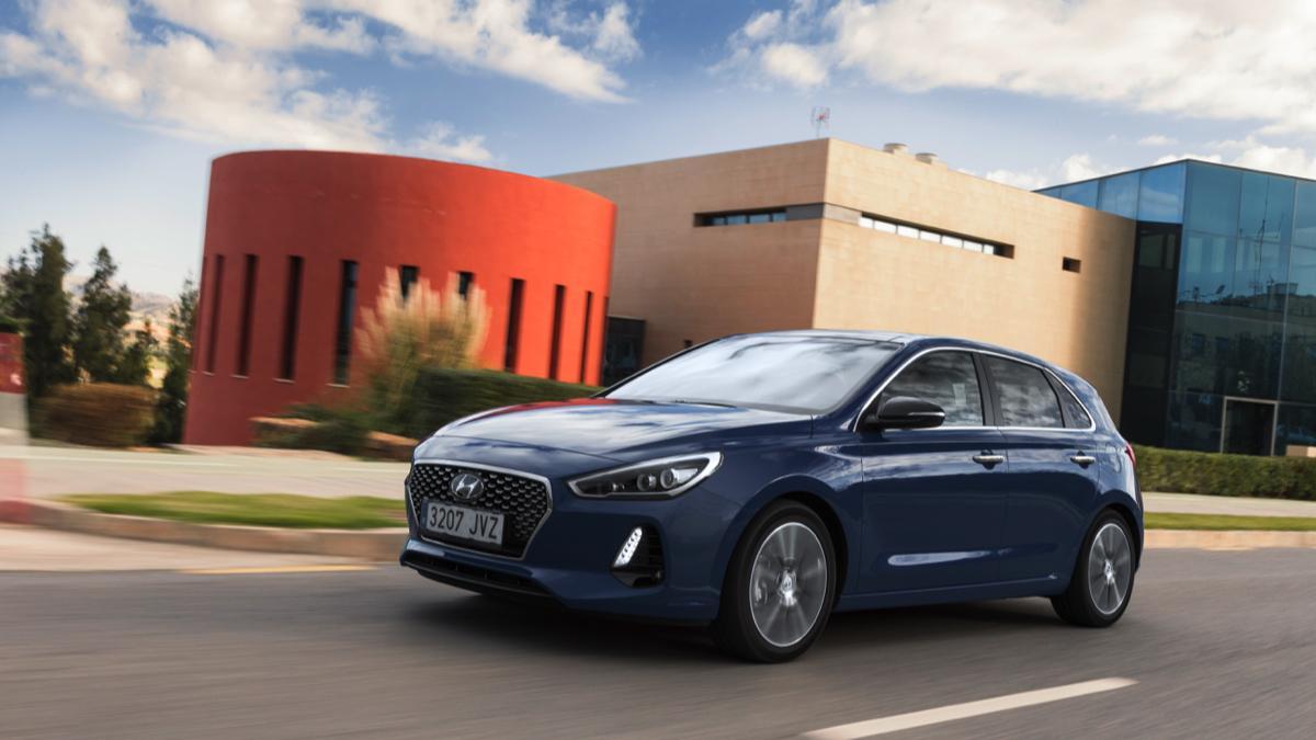 Hyundai i30 2017 delantera