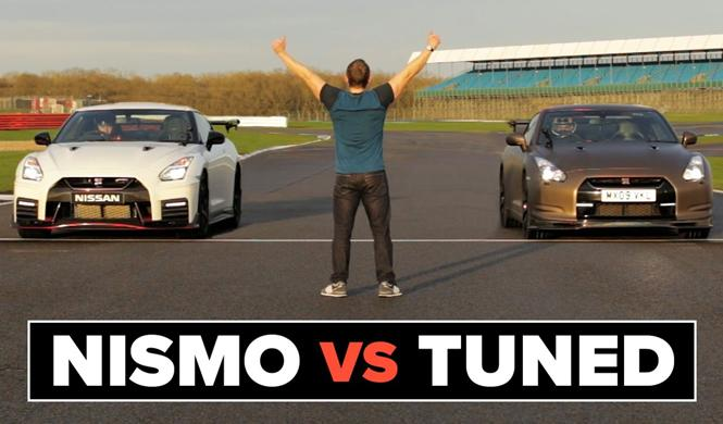 Vídeo: un Nissan GT-R Nismo 2017 contra un GT-R con 660 CV