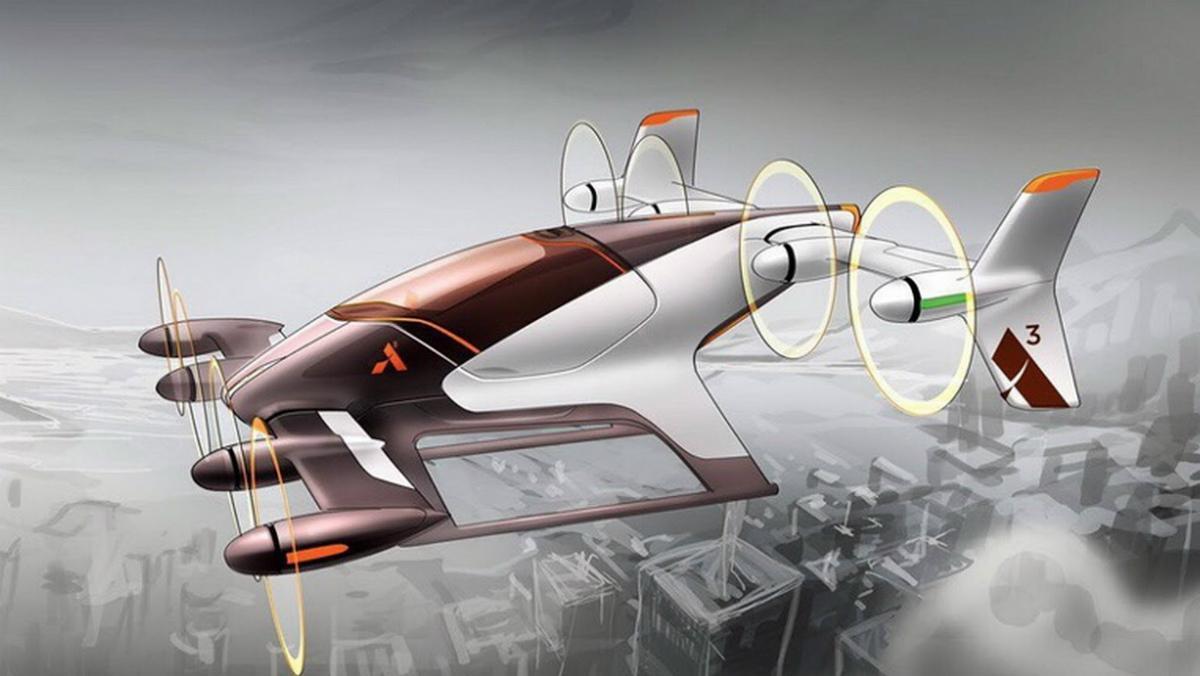 Coche volador de Airbus