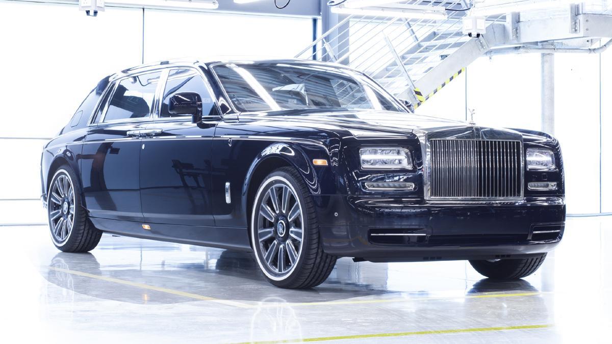 último Rolls-Royce Phantom VII fabricado