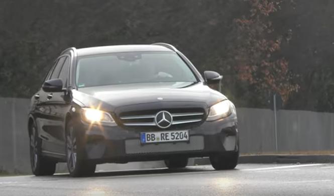 Mercedes Clase C 2018: toma 'pillada' en vídeo