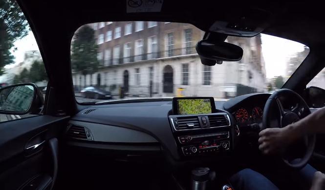 Vídeo: así se ve Londres sin tráfico desde un BMW M2
