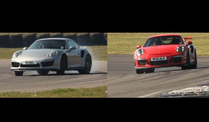 Vídeo: Porsche 911 Turbo S y 911 GT3 RS, replicando tiempos