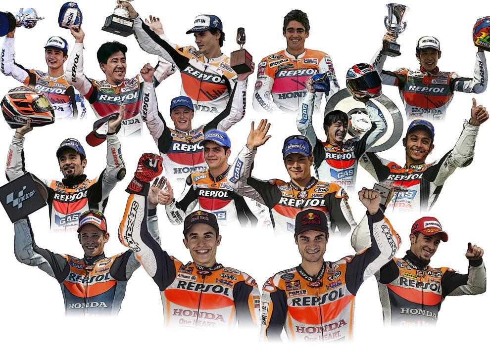 Honda y Repsol: 22 años de éxitos en MotoGP