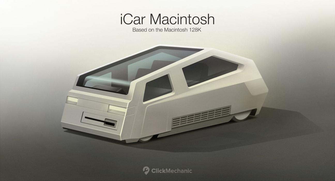 Diseños posibles del Apple Car