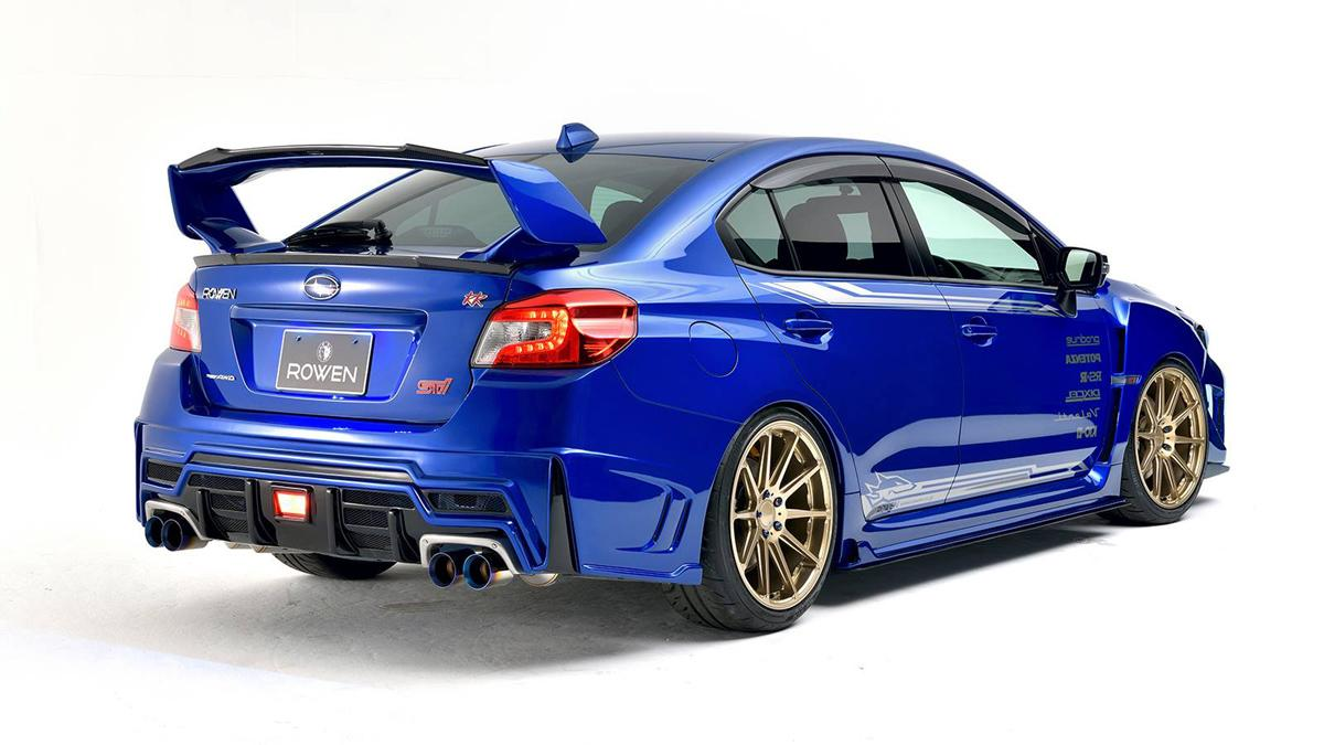 Subaru WRX STI Rowen International