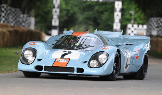 Este Porsche 917K con decoración Gulf está en venta