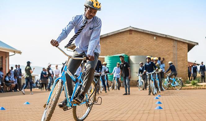 'Bicicletas para la libertad', otra idea solidaria de VW