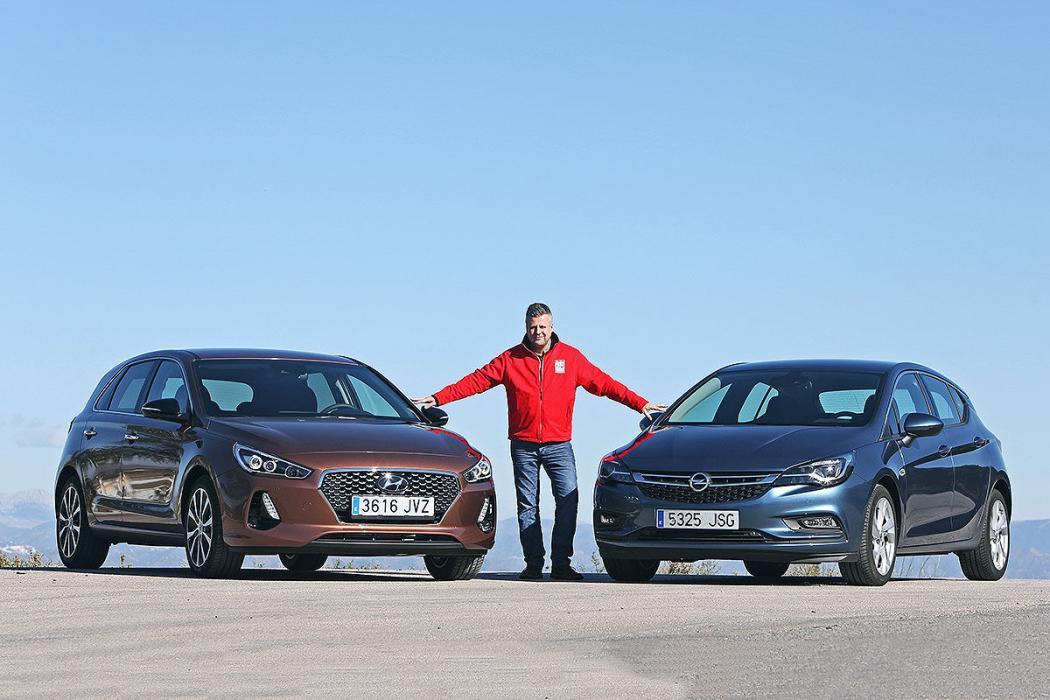Hyundai i30 vs. Opel Astra
