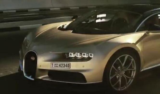 Vídeo: Chris Harris prueba el Bugatti Chiron en Dubái