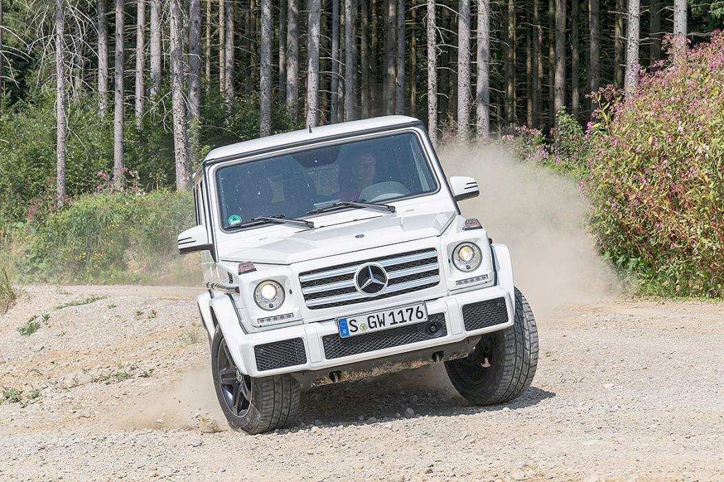 Prueba offroad: Mercedes Clase G (2017)