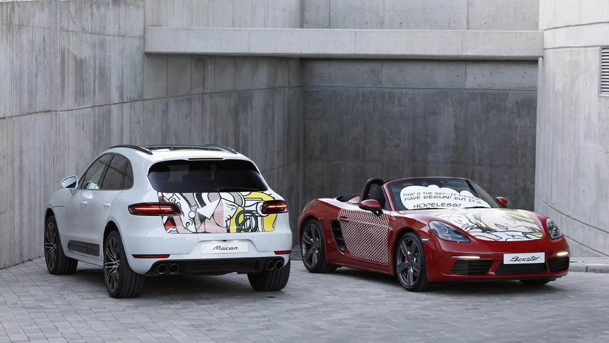 Pop art Roy Lichtenstein Porsche