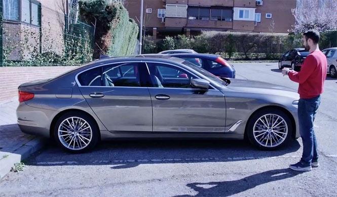 Así aparca solo el BMW Serie 5 2017 ¡Pruébalo tú mismo!