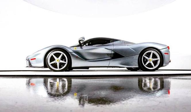 Piden 3,7 millones de euros por este Ferrari LaFerrari