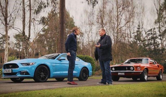 Vídeo: comparativa entre el nuevo Mustang y el clásico