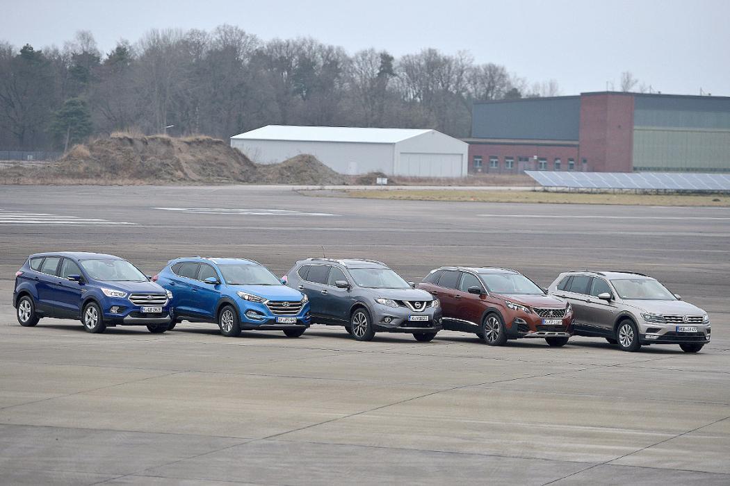 Comparativa: 5 SUV compactos
