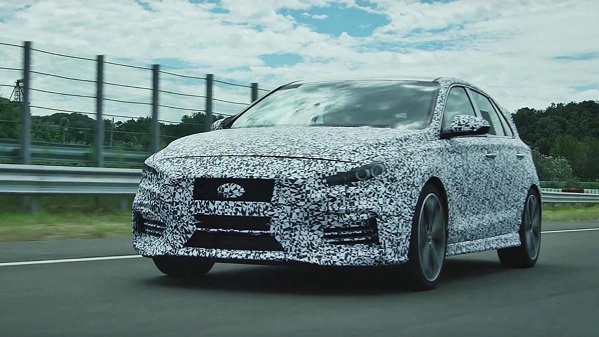Hyundai i30, pruebas en Nurburgring