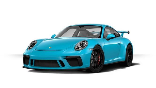 Ya puedes configurar tu nuevo Porsche 911 GT3