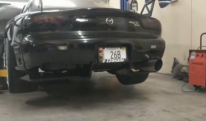 Este Mazda RX-7 recuerda poderosamente al Mazda 787B