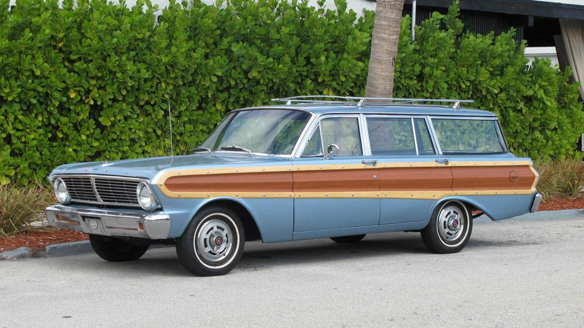 Subasta Ford Falcon Squire Wagon 1965