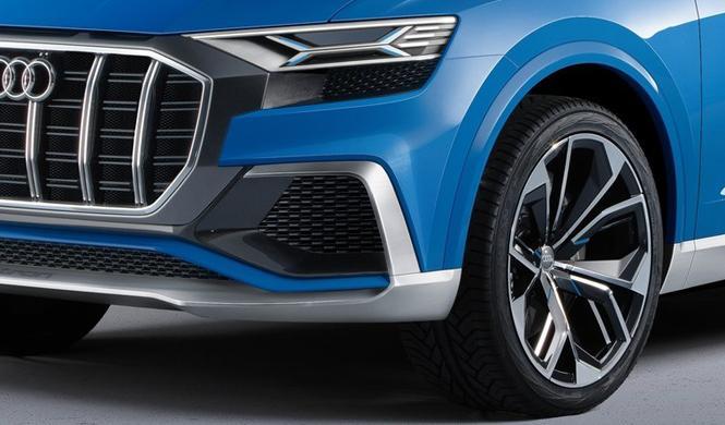 Audi Q8: cazado en el circuito de Nürburgring