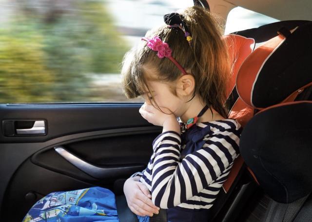 ¿Cómo no marearse en coche?