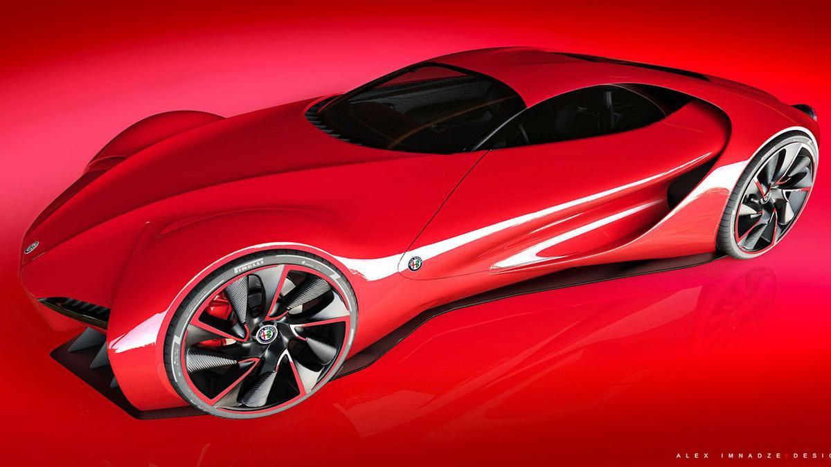 Alfa Romeo 6C Disco Volante
