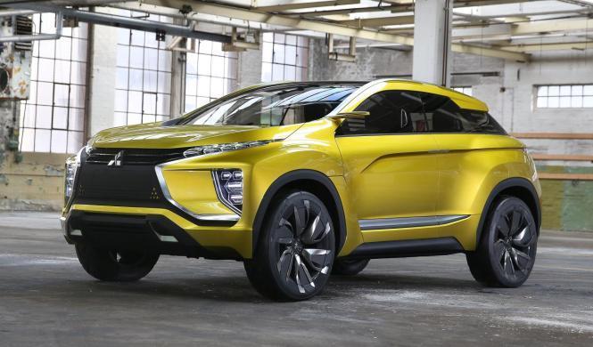 Mitsubishi eX Concept, en el Salón de Shanghái 2017