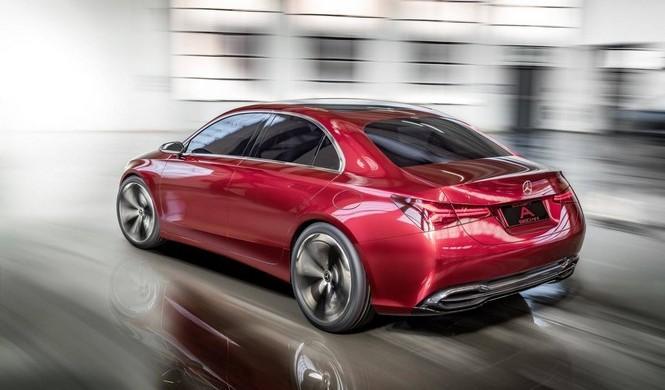Mercedes Concept A Sedán