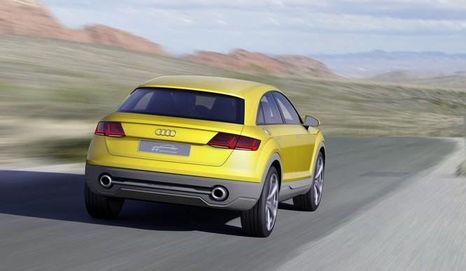 El Audi RS Q4 aterrizaría en 2019