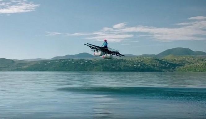 El cofundador de Google y su coche volador