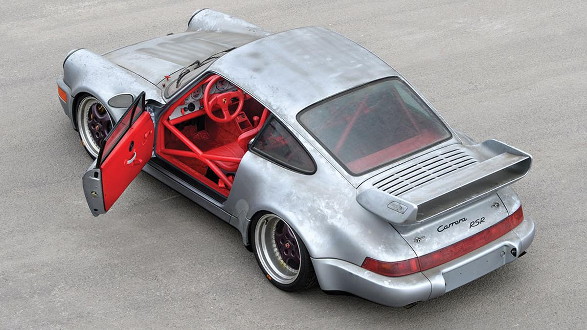 subasta Porsche 911 RSR 3.8 de 1993 sin usar