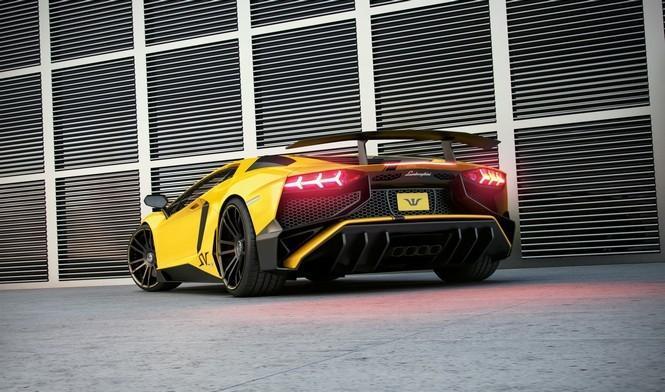 Lamborghini Aventador SV La maXXina