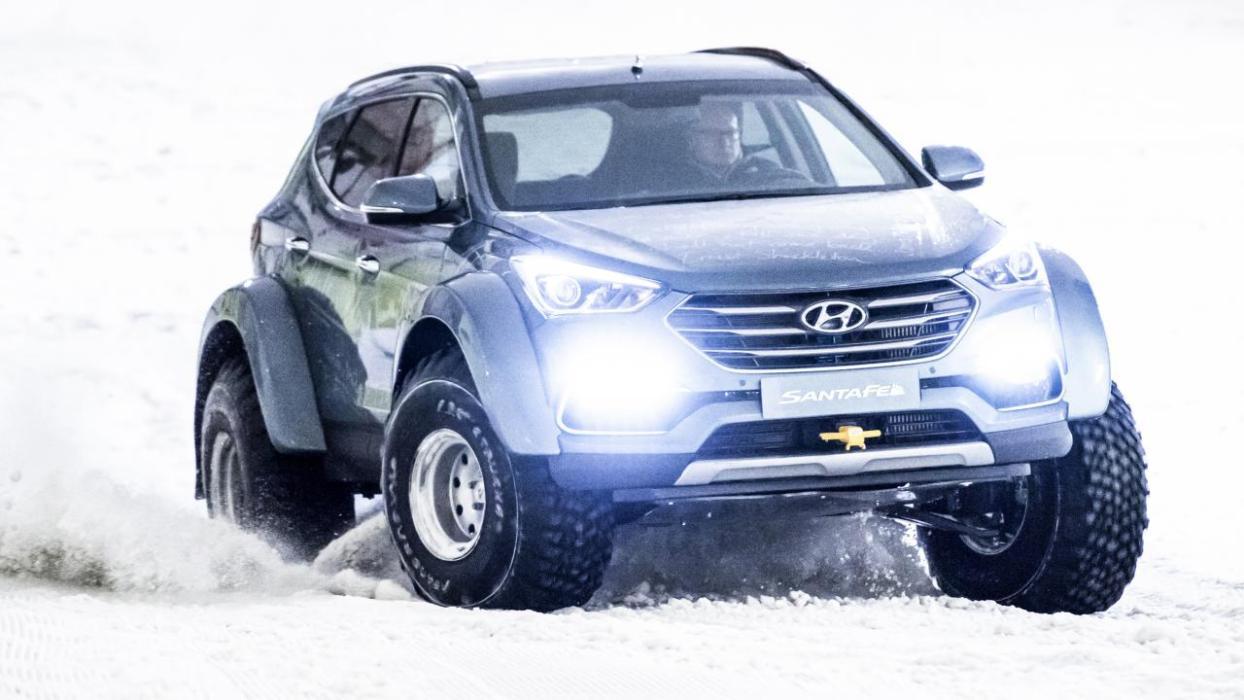 Hyundai Santa Fe Antártida