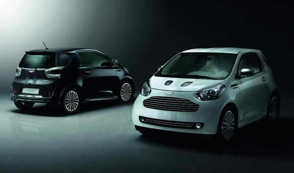 Aston Martin Cygnet Black and White